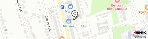 Нинель на карте Волжска