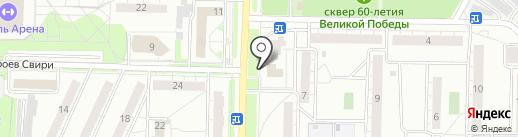 Биржа градусов на карте Ульяновска