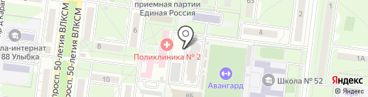 Ульяновская областная коллегия адвокатов Засвияжского района на карте Ульяновска