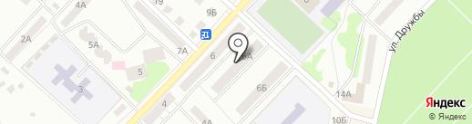 Почтовое отделение №8 на карте Волжска
