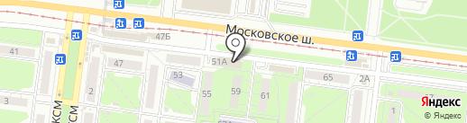 Модная пара на карте Ульяновска