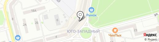 Магазин сувениров и подарков на карте Волжска