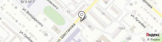 Улыбка на карте Волжска