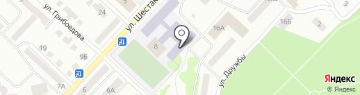Строительно-промышленный колледж на карте Волжска