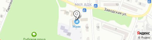 Маяк на карте Волжска