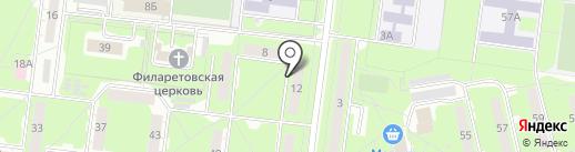 Автозаводец на карте Ульяновска