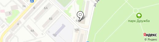 Компания мебели для дома на карте Волжска
