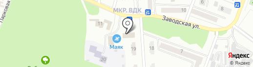 Бистро на ул. Комарова на карте Волжска