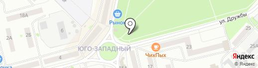 Ягуар на карте Волжска