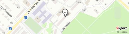 Волжскпромстрой на карте Волжска