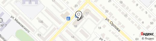 РиАл на карте Волжска