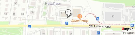 Ирис на карте Ульяновска