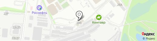 Спартак на карте Ульяновска