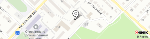 Городской отдел сделок с недвижимостью на карте Волжска