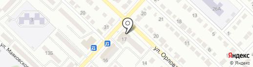 Отличный на карте Волжска