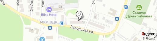 Дарина на карте Волжска