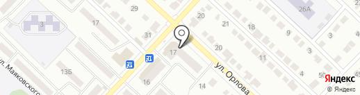 Магазин цветов на карте Волжска