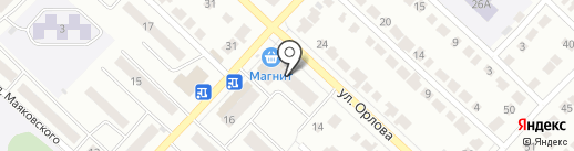 Флористический салон на ул. Орлова на карте Волжска