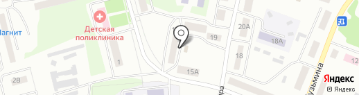 Космос на карте Волжска