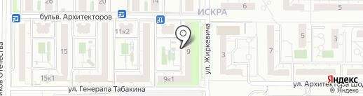 ES на карте Ульяновска