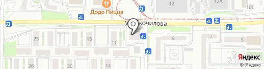 Адвокатский кабинет Мустафиной Ю.А. на карте Ульяновска