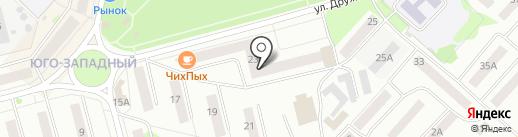 Сигма на карте Волжска