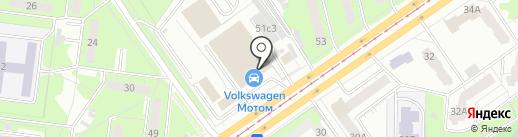 Мотом Драйв на карте Ульяновска