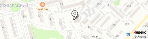 Вариант на карте Волжска