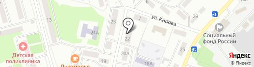 Салон сотовой связи на карте Волжска
