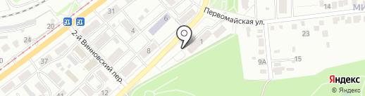Спарта на карте Ульяновска