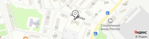 Лазертаг-клуб на карте Волжска