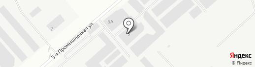 АСМ на карте Волжска