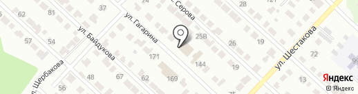 Стройка на карте Волжска