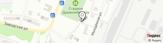 Автокомплекс на карте Волжска
