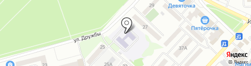 Детский сад №19, Светлячок на карте Волжска