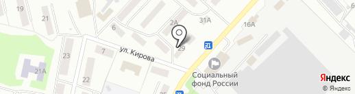 Ударник на карте Волжска