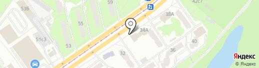 Шестеренка на карте Ульяновска