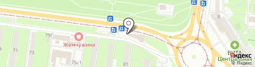 Развитие плюс М на карте Ульяновска