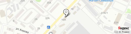 ЧЕРЕПАХА на карте Волжска