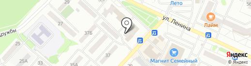 Магазин автотоваров на карте Волжска