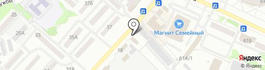 СтройБаза на карте Волжска