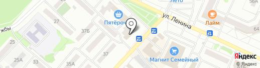 Пивзаправка на карте Волжска