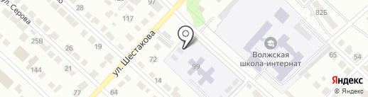 Детский сад №8, Ягодка на карте Волжска