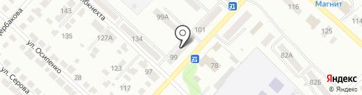 Парикмахерская на карте Волжска