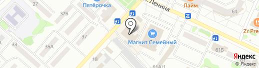 Зоомир на карте Волжска