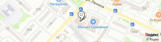 Магазин детских товаров на карте Волжска