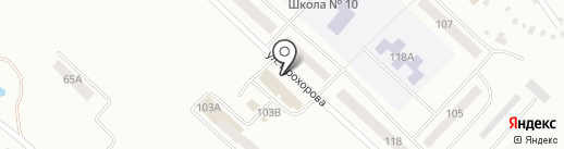 Штофф на карте Волжска