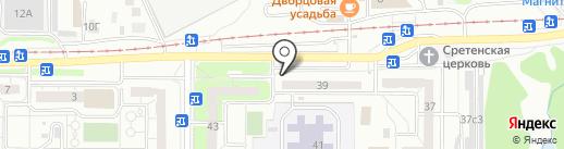 Мега-Кега на карте Ульяновска