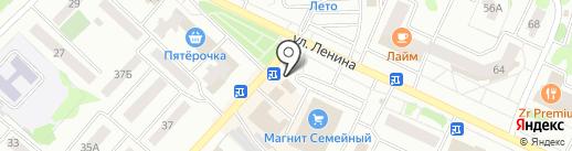 Алтын на карте Волжска