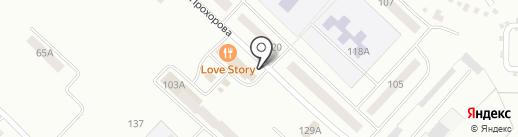 Солнышко на карте Волжска